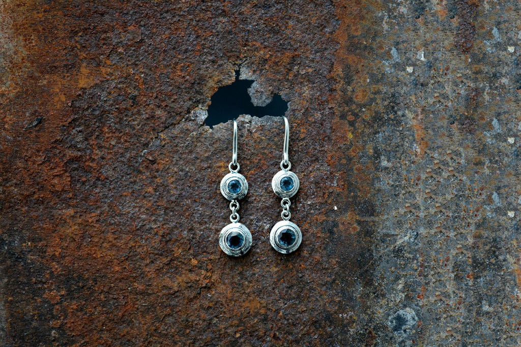Topaz Drop Earrings