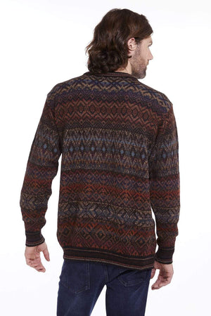 Intiwara Mens Sweater Santiago Men's Alpaca Sweater