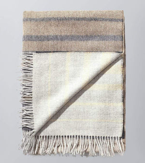 100% Baby Alpaca Throw Blanket or Shawl - Santiago