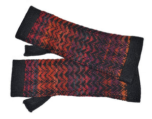 Invisible World Noelle Women's Alpaca Scarf and Fingerless Glove Set