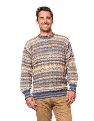 Invisible World Men's Pullover Sea Pullover Men's Alpaca Sweater