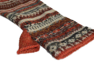 Invisible World Gloves Toboggan Women's Fingerless Alpaca Gloves