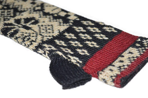 Invisible World Verbier Women's Alpaca Hat and Fingerless Glove Set