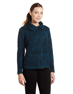 Vita Crossover Alpaca Wrap Cardigan for Women