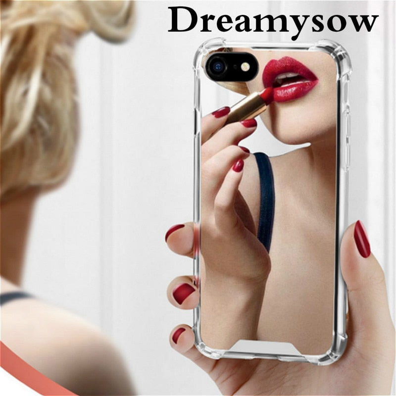 Luxury Makeup Cover Case For iPhone