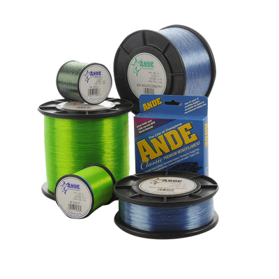 Back Country Moss Green Filler Spool - Ande Monofilament