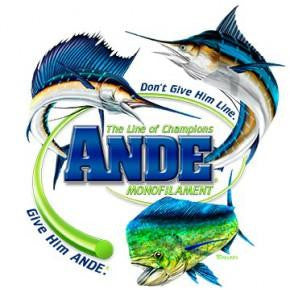 Offshore Trio T-Shirt - Ande Monofilament