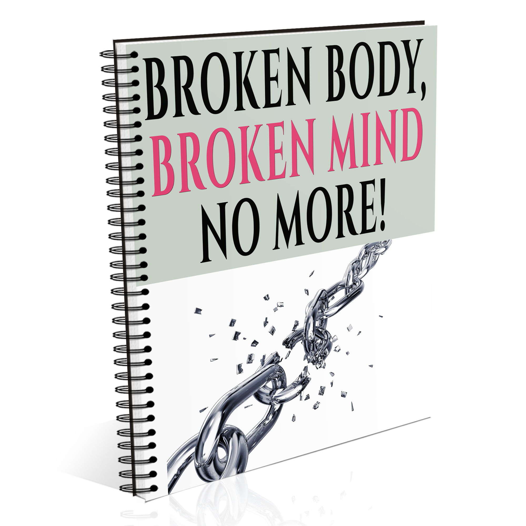 Broken Body Broken Mind - No More! Tracking Journal