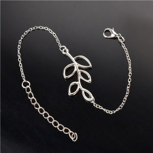 Simple But Elegant Silver Plated Top Quality Charm Jewelry Bracelet