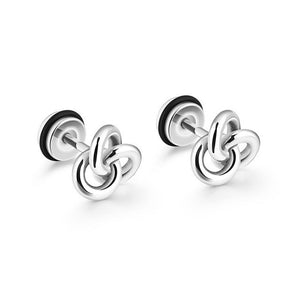 Unisex Classic Personality Stainless Steel Stud Earring