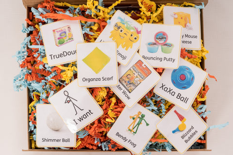 Sensory Play Box + PEC Cards