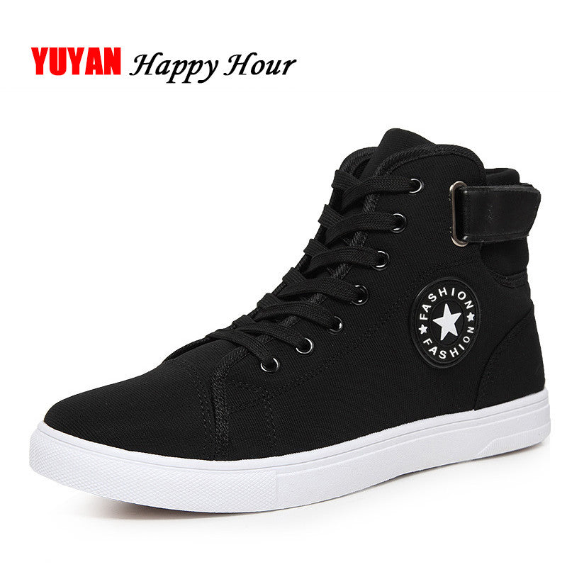 High Quality Men Canvas Shoes 2017 Fashion