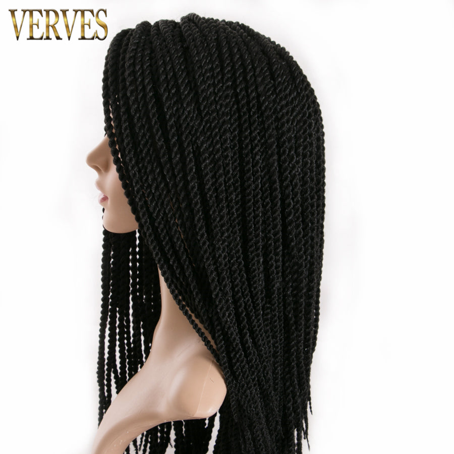 Ombre Crochet Braids one pack, 30strands/pack 18'',small Senegalese Twist Hair Synthetic Braiding Hair extensions