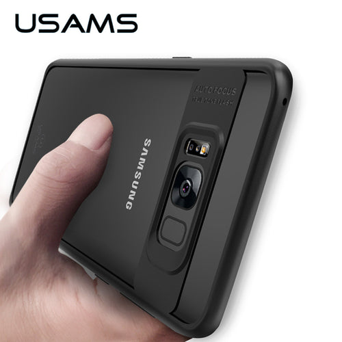 መሸፈኒ ናይ Samsung (USAMS Full Protective Case for Samsung Galaxy S8 & S8 Plus Case)