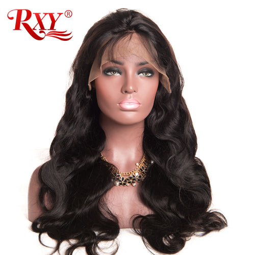 አዝዩ ግሩም ባሩካ ሁማን ሄር (Human Hair Wigs With Baby Hair 8''-24'' Body Wave Brazilian Hair Wigs)