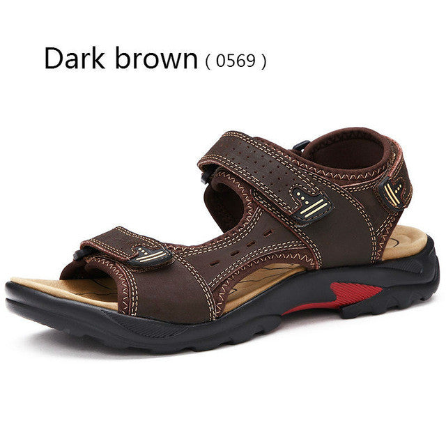 Top Quality Mens Sandals Leisure  Genuine Leather