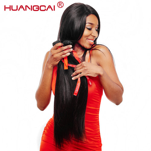 አዝዩ ብሉጽ ናይ ማለዝያ ሁማን ሀር ብርታዊ ዋጋ     Huangcai Hair 100% Brazilian Virgin hair Unprocessed straight Human Hair bundles No tangle And Shed Can Be Dyed 8-28Inch