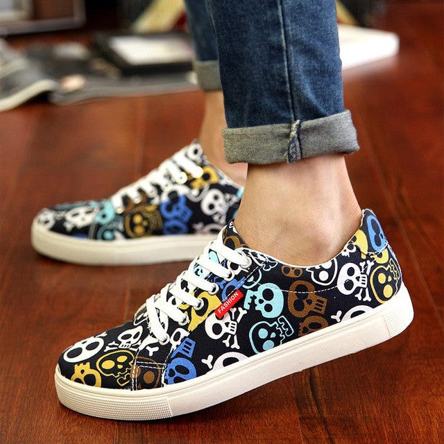 Fashion Canvas Casual Shoes Men