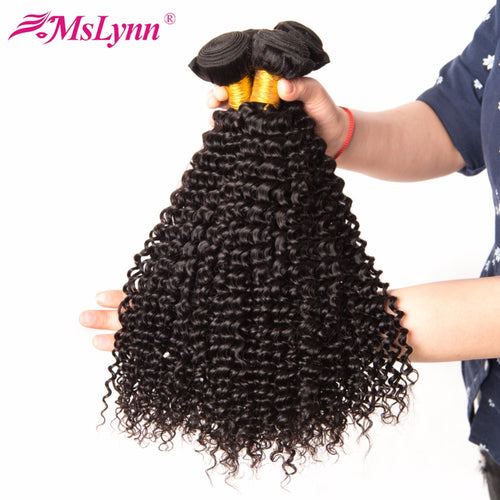 "አዝዩ ብሉጽ ናይ ማለዝያ ሁማን ሀር ብርታዊ ዋጋ         (Malaysian Curly Hair Afro Kinky Human Hair Weave Bundles Natural Color Mslynn No Remy Hair Extensions 10""-28"" 1PC Can Be Mixed"