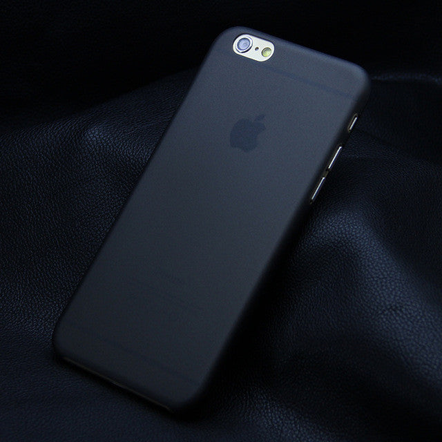 Transparent Ultra-thin 0.3MM Phone Back Case For iPhones