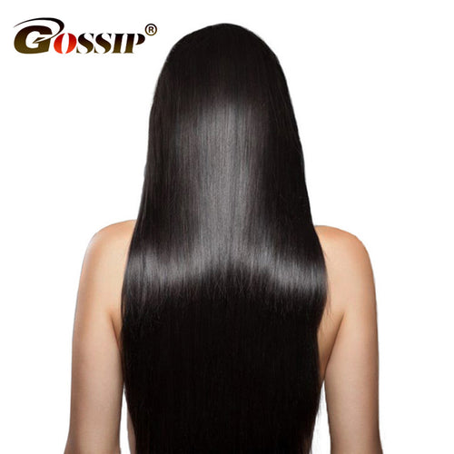 "አዝዩ ብሉጽ ናይ ብራዚል ሁማን ሀር ብርታዊ ዋጋ Gossip Silky Straight Brazilian Hair Weave Bundles Natural Color 8-24""Remy Hair Bundles 100% Human Hair Extension One Piece Only"