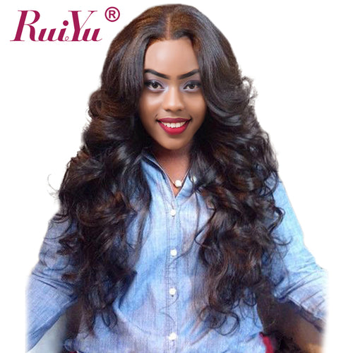 አዝዩ ብሉጽ ናይ ብራዚል ሁማን ሀር ብርታዊ ዋጋ RUIYU Hair Peruvian Body Wave Bundles Human Hair Extensions Non Remy Hair Weave Natural Color Hair Weaving 1PC Can Be Dyed