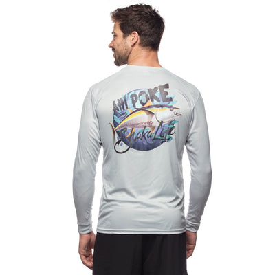 Ahi Poke Long Sleeve Performance Shirt