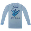 Live Makai Crew Long Sleeve Performance Shirt
