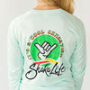 Long Sleeve Cool Sensation Green Dot Performance T-Shirt