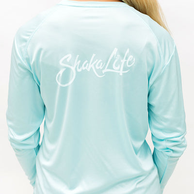 Long Sleeve Hawaii Hook Life Performance T-Shirt
