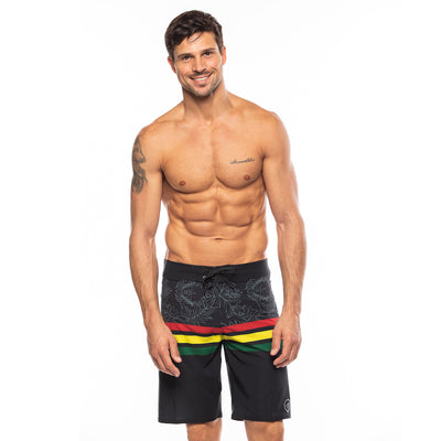 Men's Shaka Rasta Boardshorts