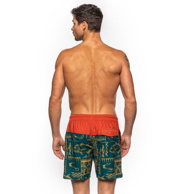 Men's Sea Hooked Elastic Boardshorts