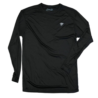 "Shaka Skull ""Respect the Reef"" Long Sleeve Performance Shirt"