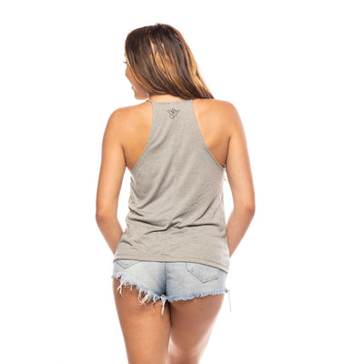 Women's Wave Whirl High Neck Tank
