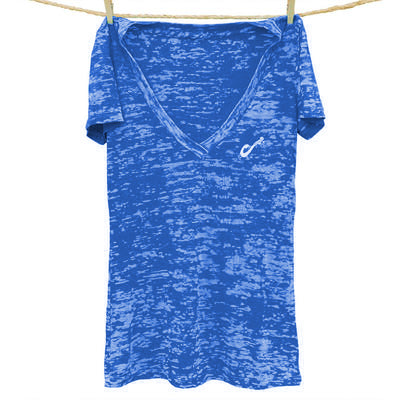 Shaka Life Burnout V-Neck