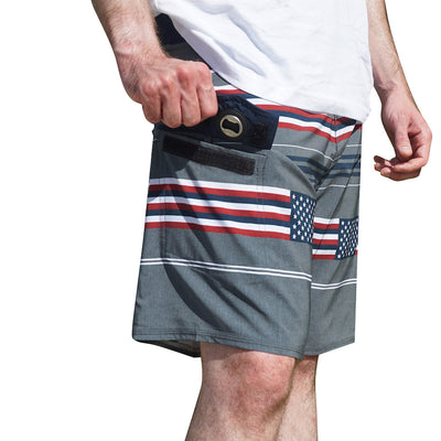 Men's American Flag Hero Boardshorts