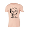 Shaka Back Skull Respect the Reef Crew Neck Tee