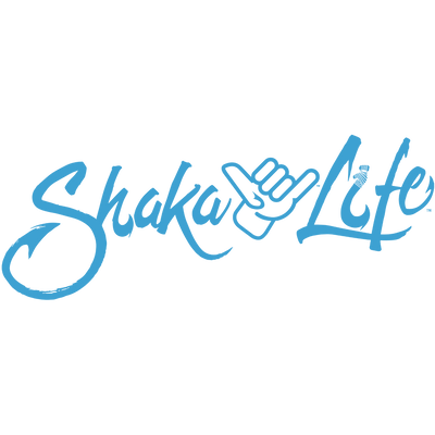 Shaka Life Logo with Hand Transfer Decal