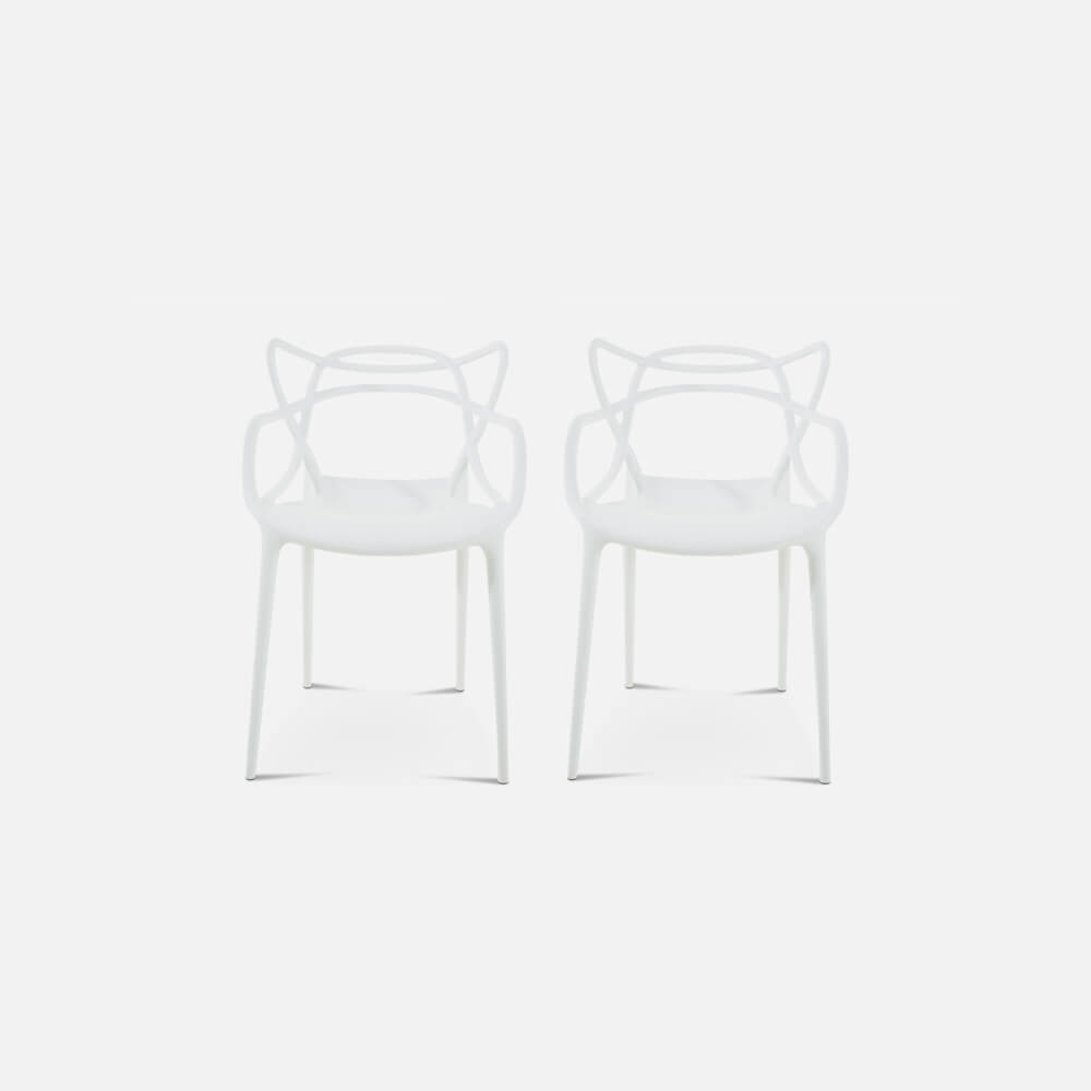 Set of Two Master Chair