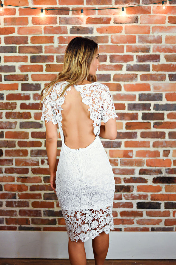 Thinking Of You Dress in Ivory