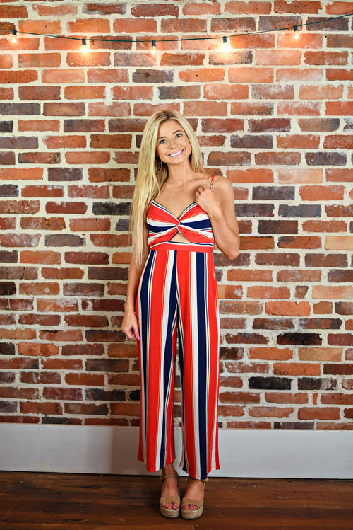On The Line Jumpsuit