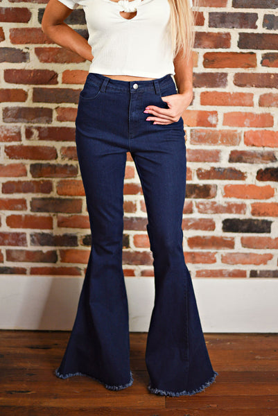Ring The Bells Flares in Denim