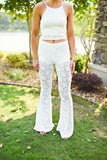 Don't Miss This White Lace Pant