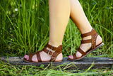 Weekend Warrior Sandals in Brown