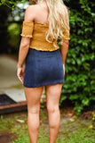 Get Down Skirt In Navy