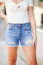 Love On The Run  Denim Shorts