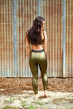 Gold Foil Leggings