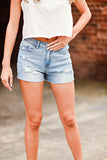 Weekend Ready Denim Shorts