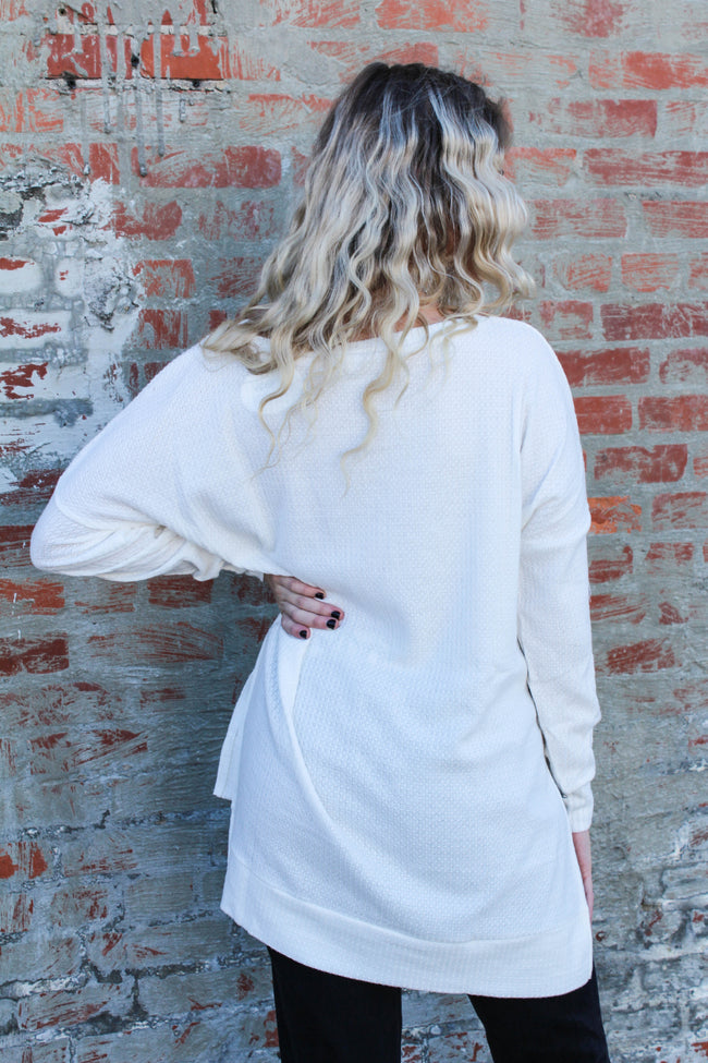 Simple Life Top in Ivory