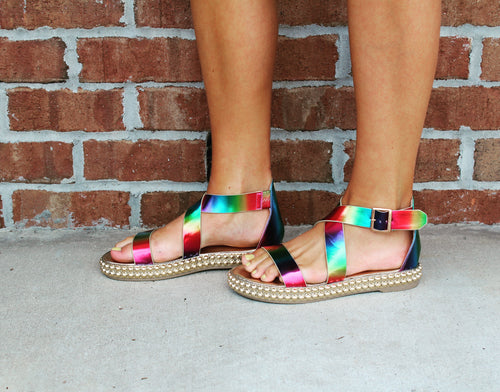Over The Rainbow Sandals